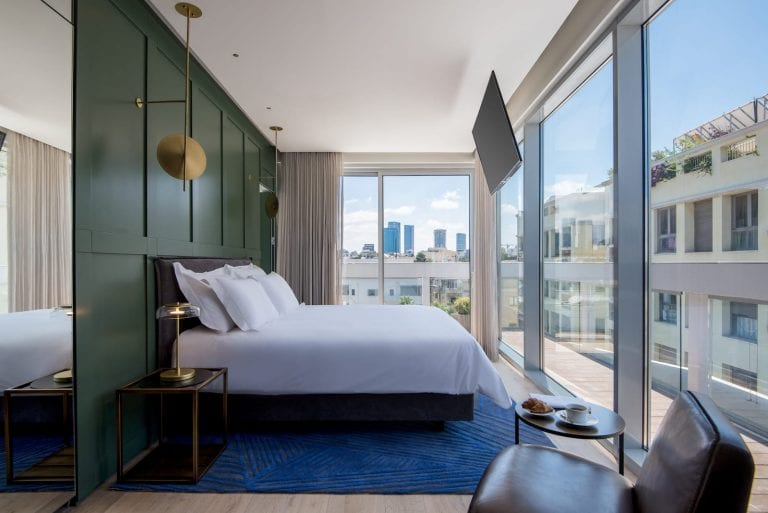 חדר Rooftop Suite